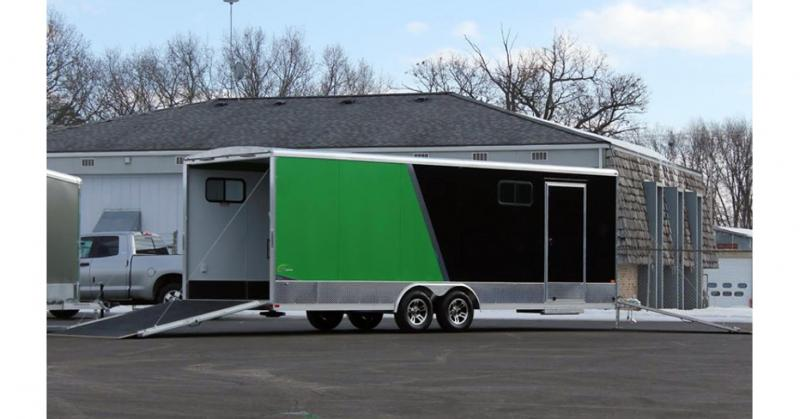 2020 NEO Trailers NCVR Round Top Combo Auto Trailer