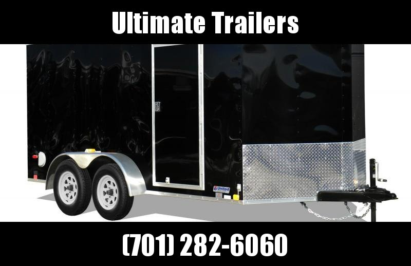 2020United Trailers XLV714TA35-8.5-S Enclosed Cargo Trailer