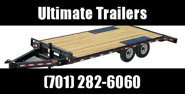 2020 PJ Trailers F8 Series 24' Deckover Trailer Equipment Trailer