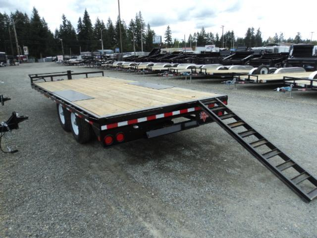 2020 PJ Trailers F8 Series 26' Deckover Equipment Trailer