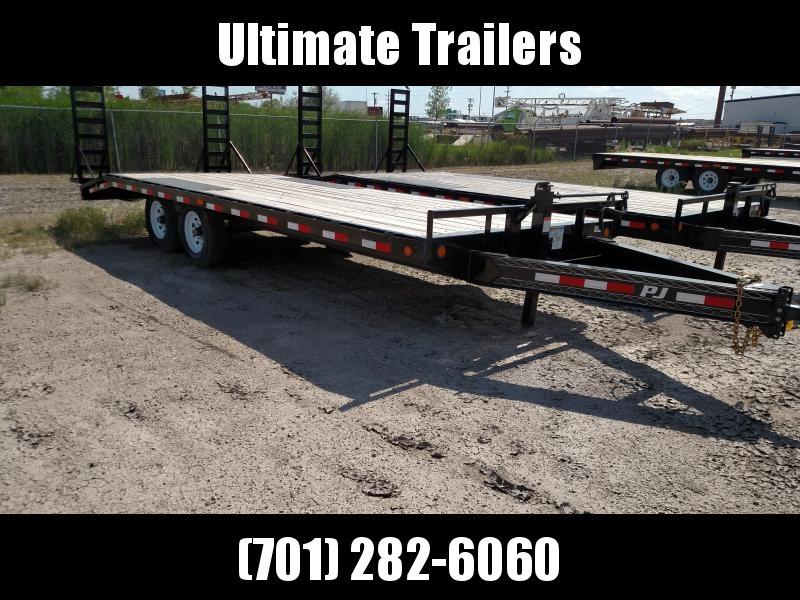 2020 PJ Trailers 8 I-Beam 20' Deckover (F8) Equipment Trailer