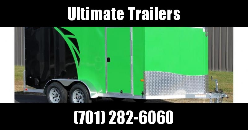 2020 NEO Trailers NAMF Flat Top Slant Nose Motorcycle Trailer