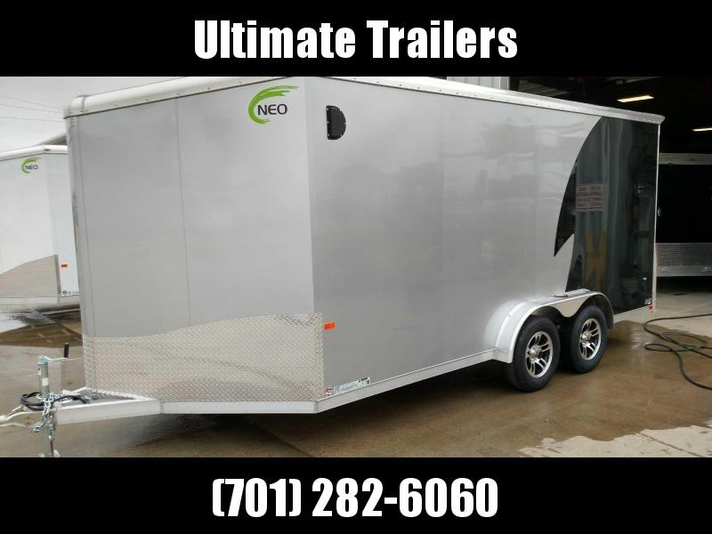 2021 NEO Trailers NAM1675TR80A Enclosed Cargo Trailer