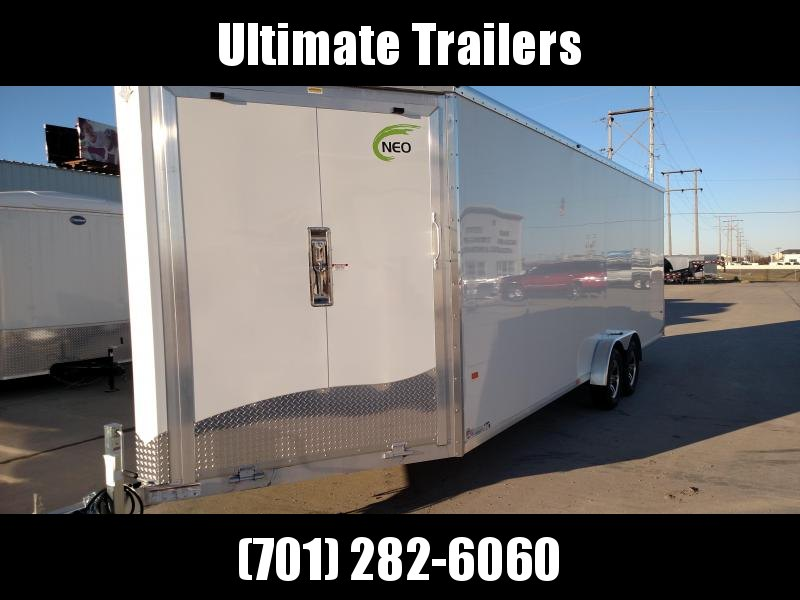 2020 NEO Trailers NAS2875TR12 Snowmobile Trailer