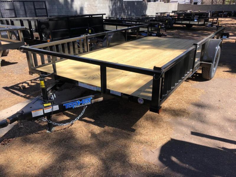 77X14 Angle Rail Quad Hauler Utility Trailer