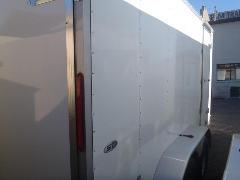 7x14 Enclosed Trailer Tandem Axle