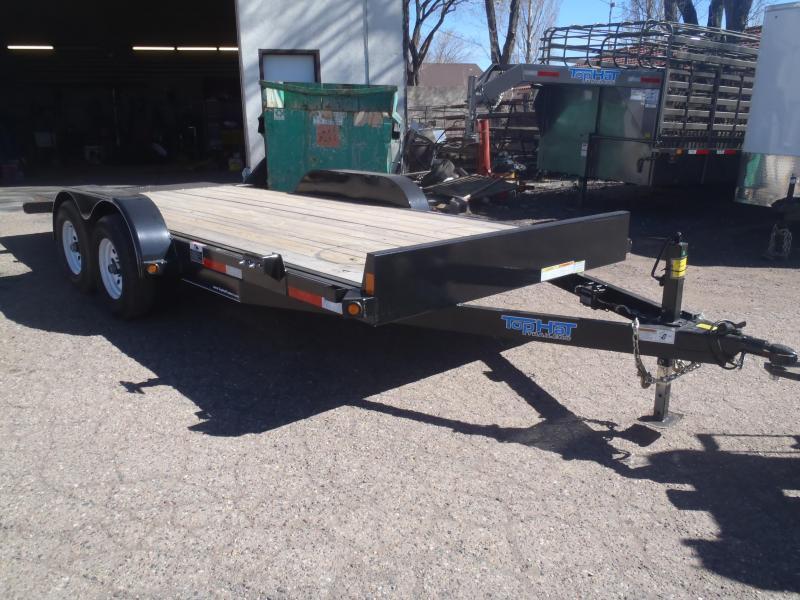 83X18 10K Tilt Carhauler Equipment Trailer
