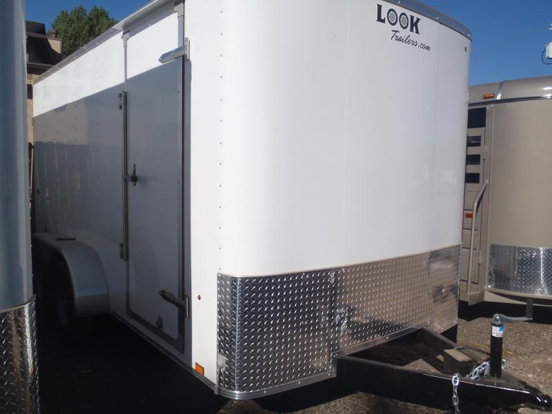 7x16 Enclosed Trailer Tandem Axle