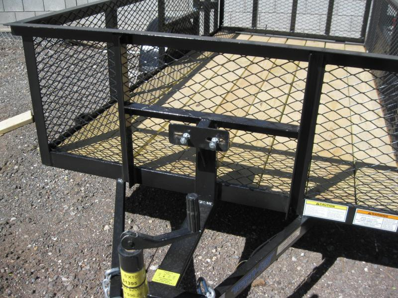 77X12 Lanscaper Utility Trailer with 2' Expanded Metal Sides