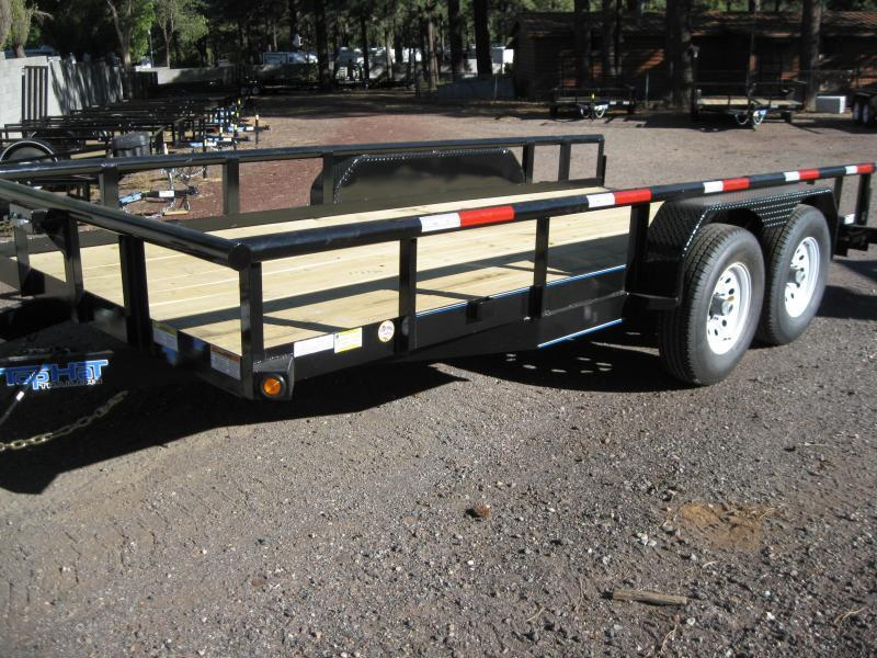 83X16 10K Load Hauler Trailer