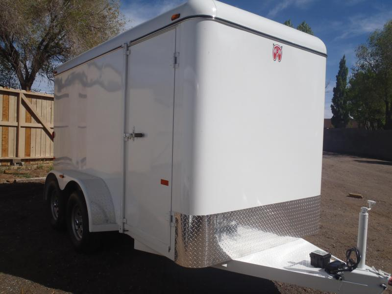 2018 W-W Trailer 6.8X16 Cargo Carrier Enclosed Cargo Trailer