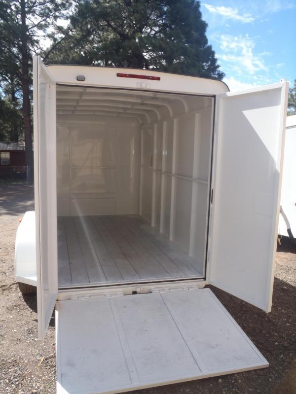 2018 W-W Trailer 6.8X16 Cargo Carrier Enclosed Cargo Trailer
