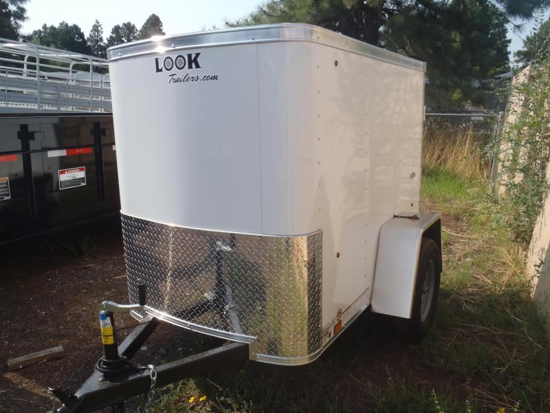 4x6 OB Enclosed Trailer