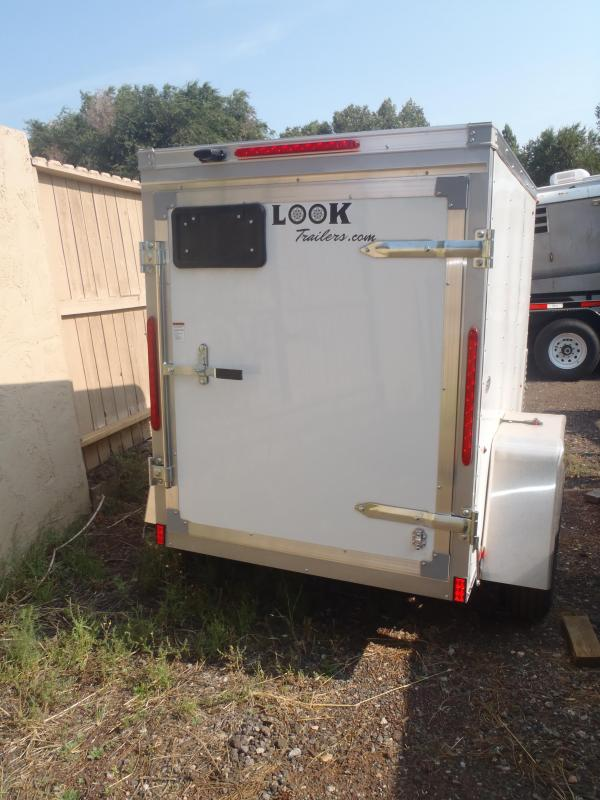 4x6 ST Enclosed Trailer