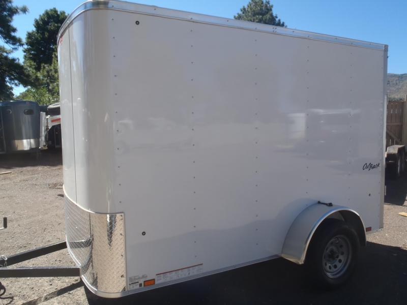 6x10 ST Enclosed Trailer Ramp Door