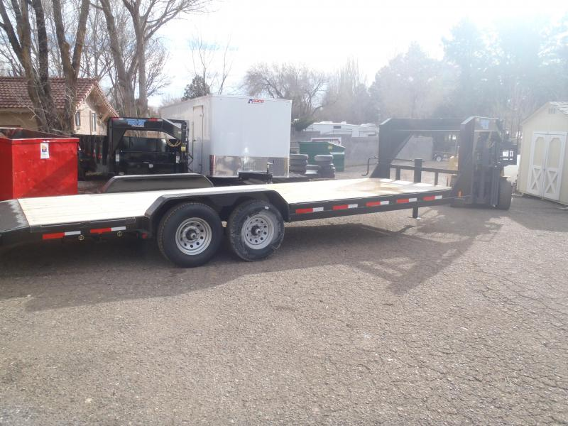 83X24 Gooseneck Equipment Hauler 14K