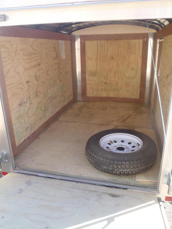 5x8  Enclosed Trailer Side Door and Ramp Door