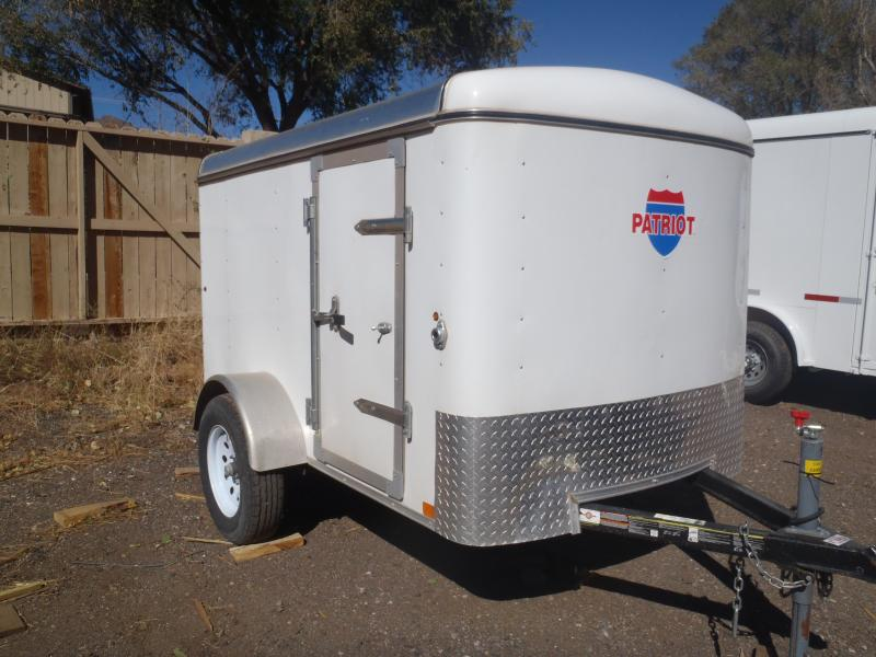 5x8  Enclosed Trailer Side Door and Ramp Door