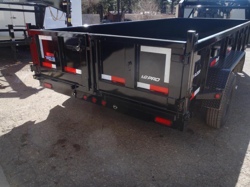 7' X 16' Lowpro 14000 lb G.V.W. Gooseneck Dump Trailer
