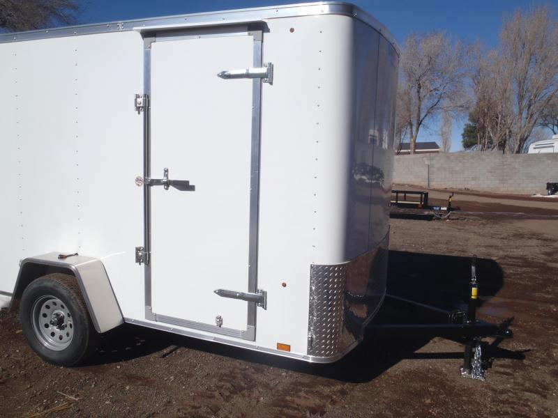 6x10 OB Enclosed Trailer Barn Doors
