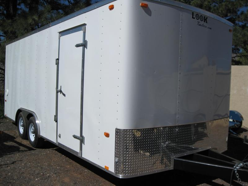 8.5 X 20 Outback / Enclosed 7K GVW