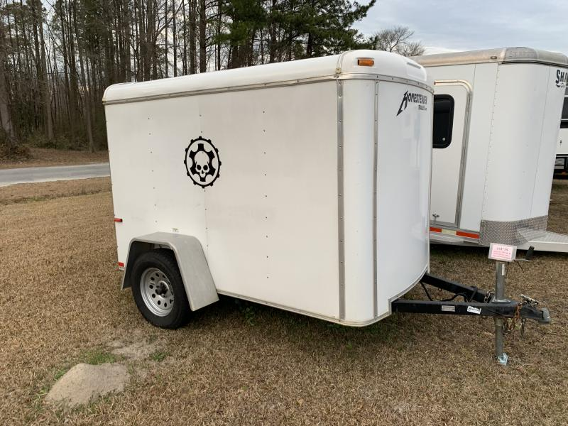 2009 Homesteader 5x8 Challeger 3.5k Enclosed Cargo Trailer