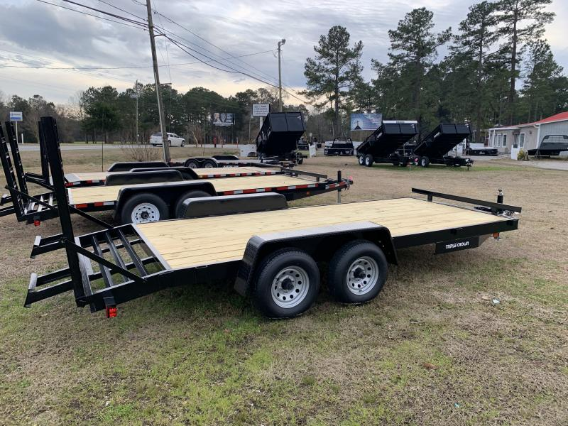 2020 Triple Crown Trailers 7'x18' 10K Equipment Trailer