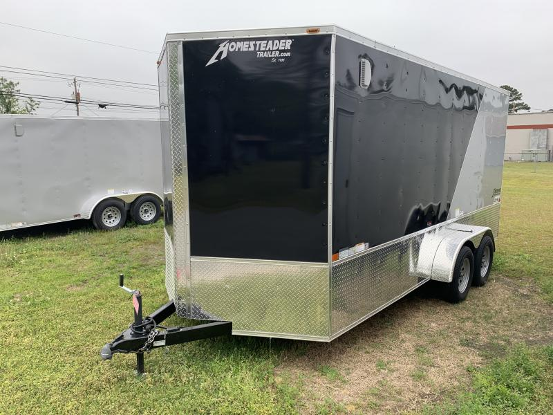 2020 Homesteader 7'x16' Intrepid Cargo Trailer 7ft Tall