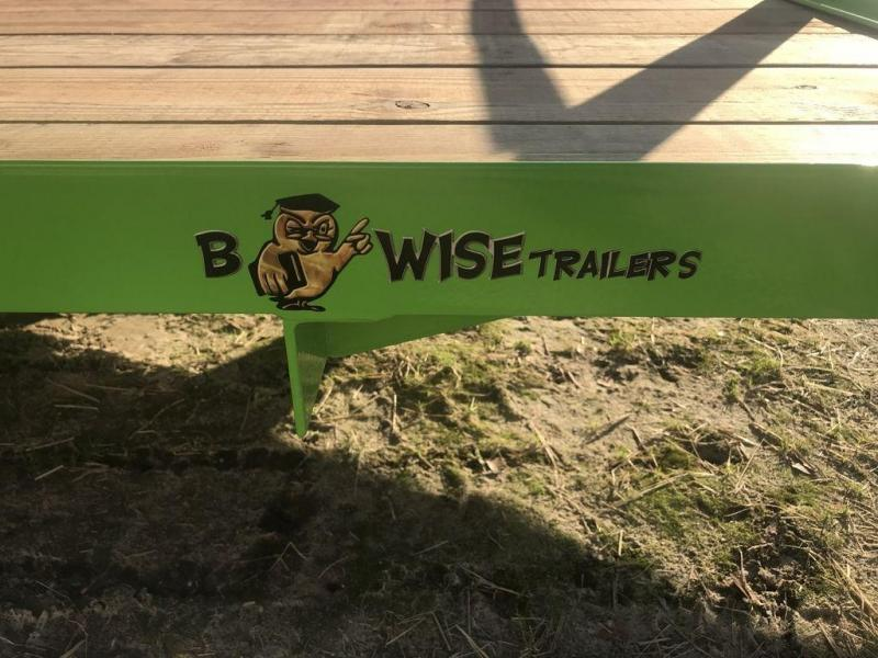 2019 B-Wise U612-3 Utility / Landscape Trailer