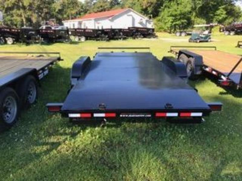 2020 Master Tow 82X18 10K Open Car Hauler w/ Metal Floor