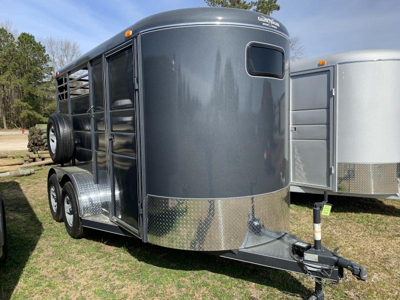 2020 Calico Trailers 2H BP Drop Horse Trailer
