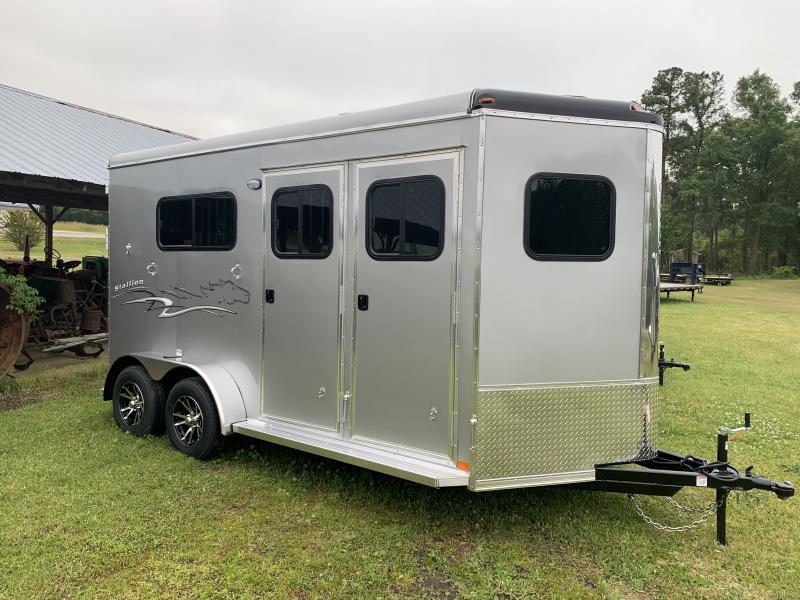 2020 Homesteader Stalion 214FB Horse Trailer