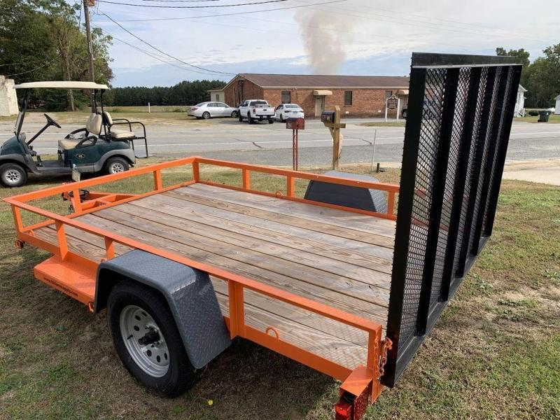 2019 Triple C 6X10 Single Axle Utility Trailer 3K