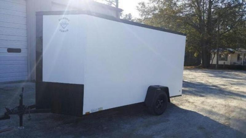 2019 Diamond Cargo 6X12 Single Axle Enclosed Cargo Trailer