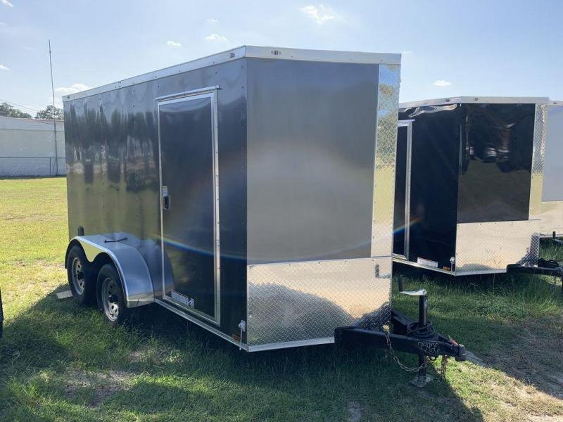 2020 Diamond Cargo 6X12 Tandem Axle Enclosed Cargo Trailer