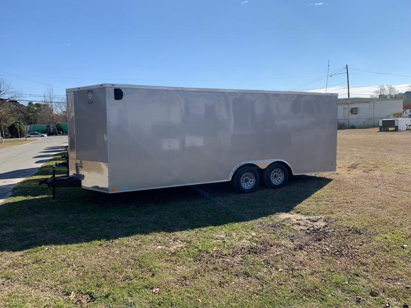 2020 Diamond Cargo 8.5x20 7k Enclosed Cargo Trailer