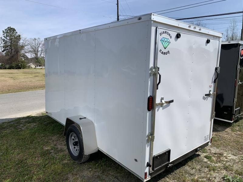 2020 Diamond Cargo 6'x12' Cargo 3.5k Enclosed Cargo Trailer