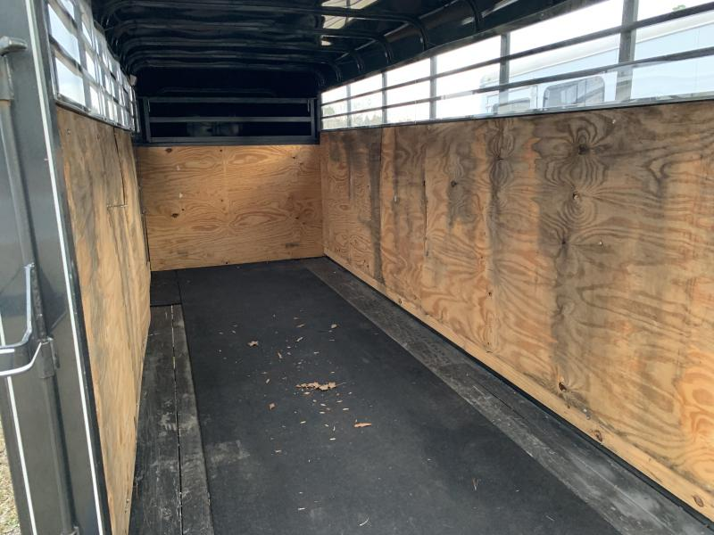 2019 Calico Trailers 16STOCKUSED Livestock Trailer