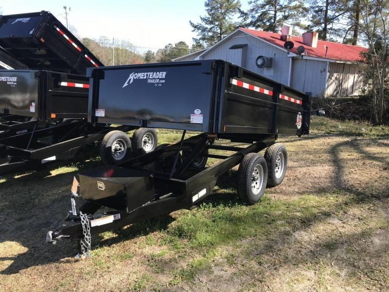 2019 Homesteader 610LB Over The Wheel Dump Trailer