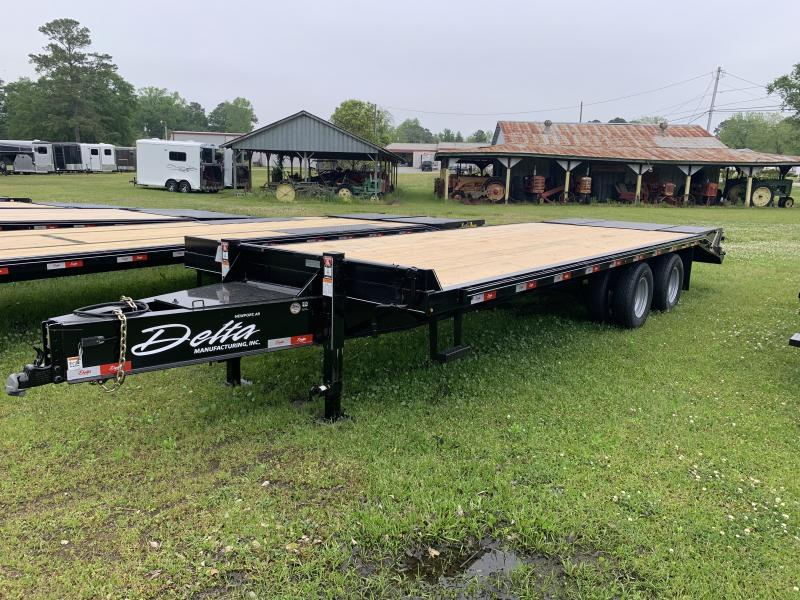 2020 Delta Dual-Wheel Flatbed 25ft