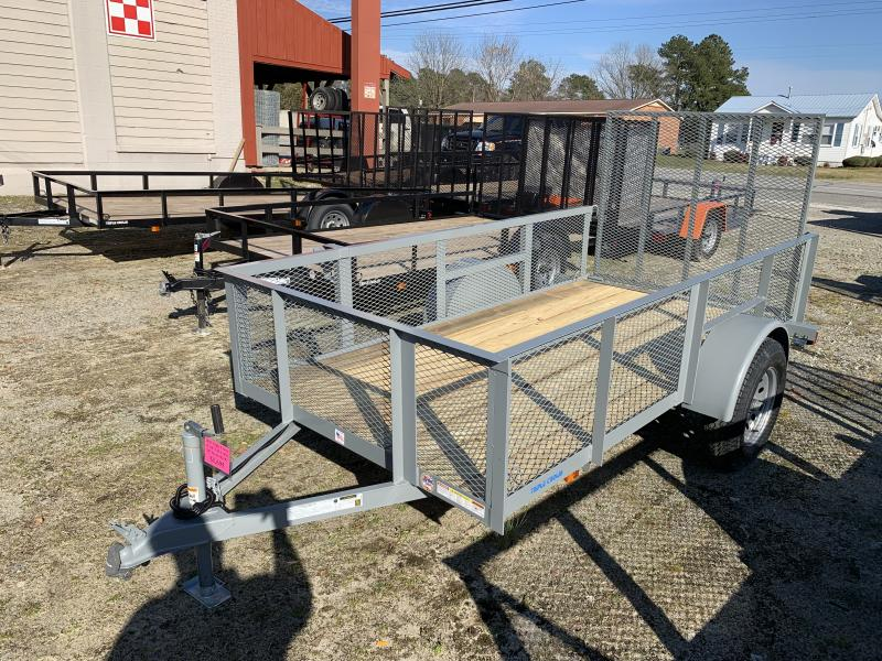 2020 Triple Crown Trailers 5X10 Single Axle Utility Trailer w/ Mesh