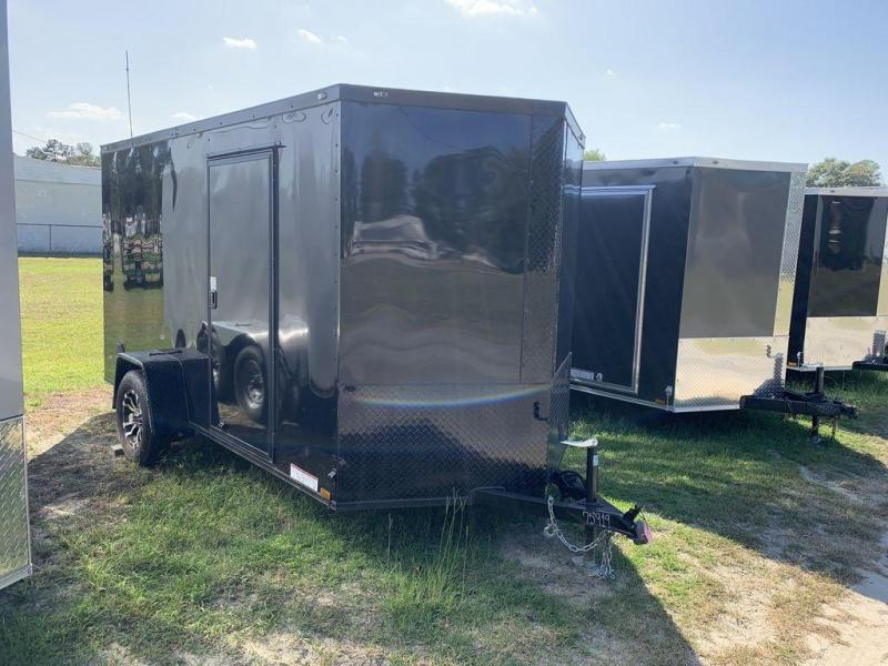 2020 Diamond Cargo 6X12 Black Out Package