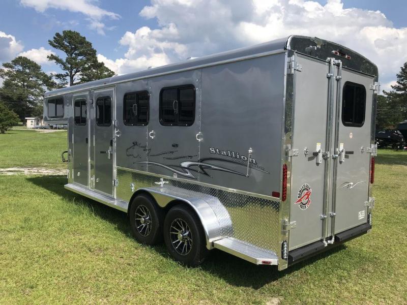 2019 Homesteader Stallion 3 Horse GN Trailer
