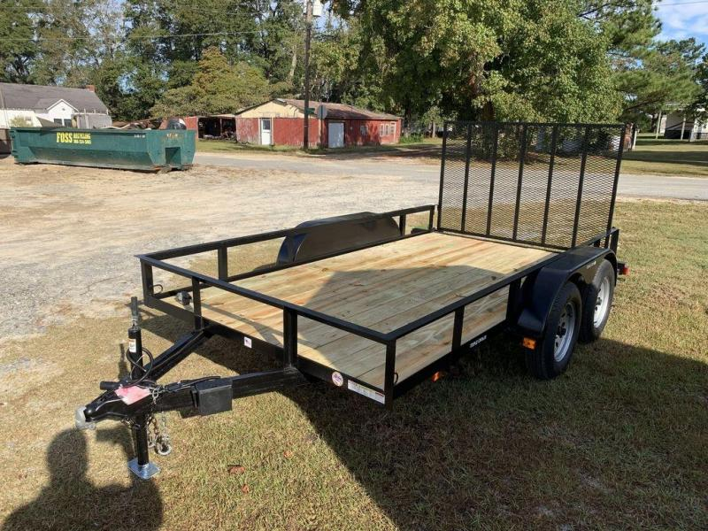 "2020 Triple Crown Trailers 6'4""X12 Economy Tandem Axle Utility Trailer"
