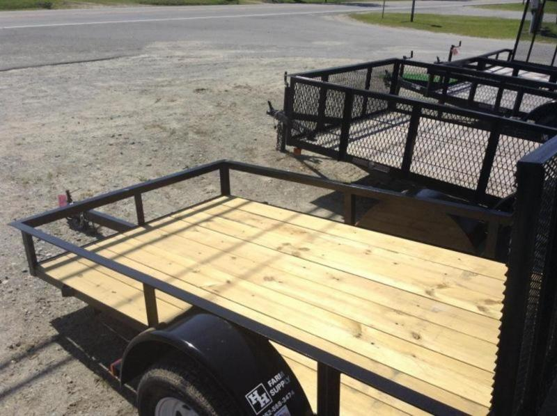 2019 Triple C 5X8 Single Axle Utility Trailer 2K
