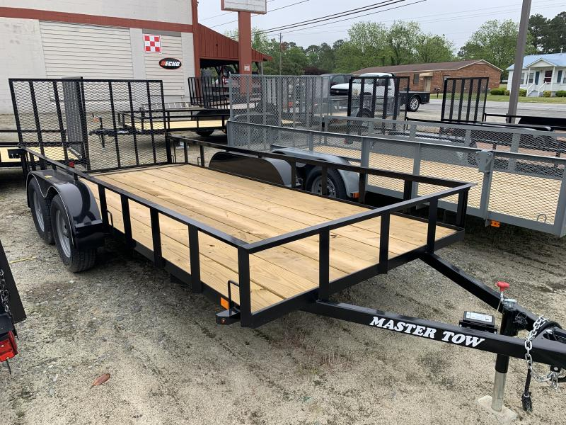 2020 Master Tow 6-4x16 7k Utility Trailer with Dovetail