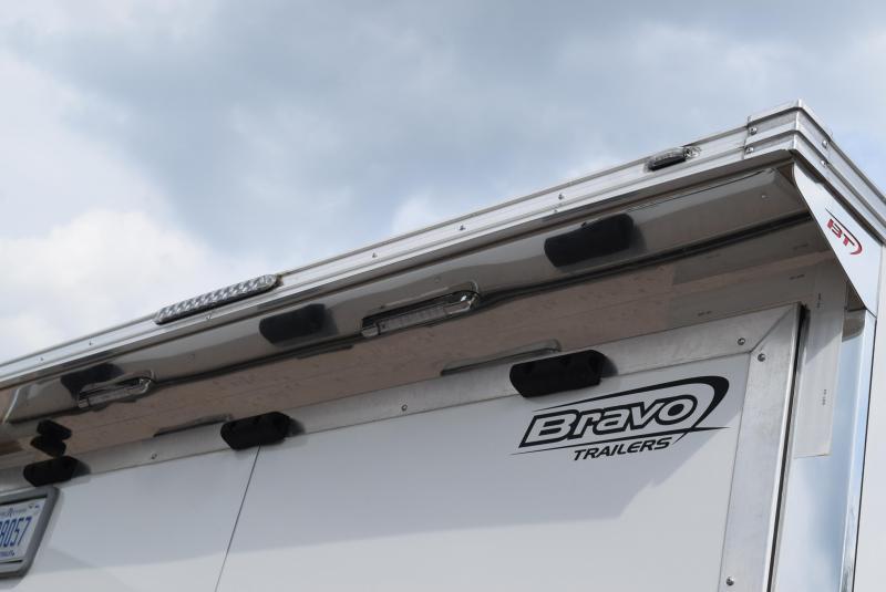 USED 2019 BRAVO STAR 32' ENCLOSED RACE TRAILER
