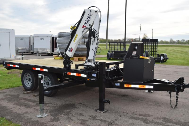 2020 NATION 12' ATL100 EQUIPMENT CRANE TRAILER