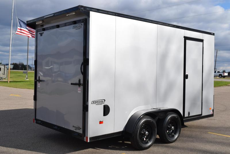 2020 BRAVO 7x14 SCOUT *MIDNIGHT EDITION* CARGO TRAILER