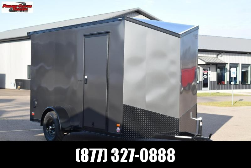 2020 BRAVO 6x12 SCOUT *MIDNIGHT EDITION* ENCLOSED CARGO TRAILER
